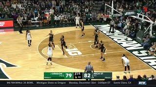 Highlights: Oregon at Michigan State | Big Ten Women