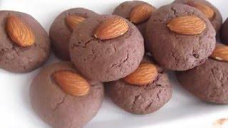 Шоколадное печенье.Как быстро приготовить вкусное шоколадное печенье.