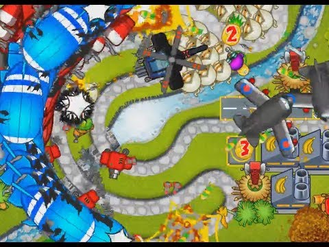 Mastery Mode Impoppable Park Path - Bloons Tower Defense 5