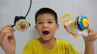 Đồ Chơi Trẻ Em  Con Quay Nado 5 – Thần Phong Giáp Chiến Vs Con Quay Nado  - Surich ToysReview
