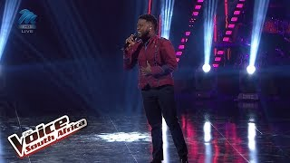 Sbu Dludlu – 'Giving Myself' | Live Shows | The Voice SA | M-Net