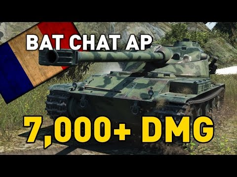 World Of Tanks || Bat Chat 25 T AP (T9) - 7,000 DMG...