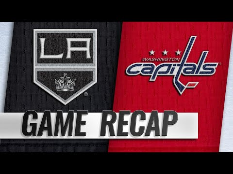 Kuznetsov posts four points in Capitals' 6-4 win