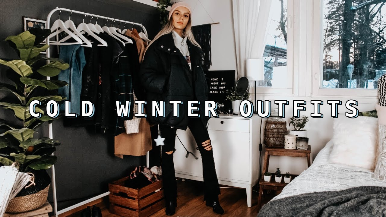 cold winter outfit ideas 2019 | layering for below zero winter 3