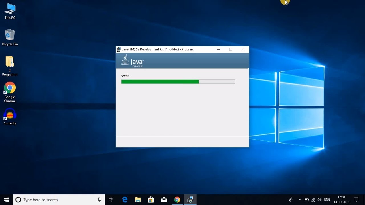 How To Install Java JDK 11 On Windows 10 - YouTube