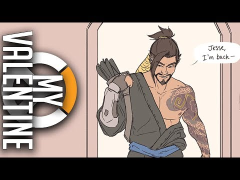 Be my Valentine   Overwatch Comic Dub