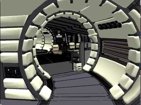 Millennium Falcon Walkthrough Youtube