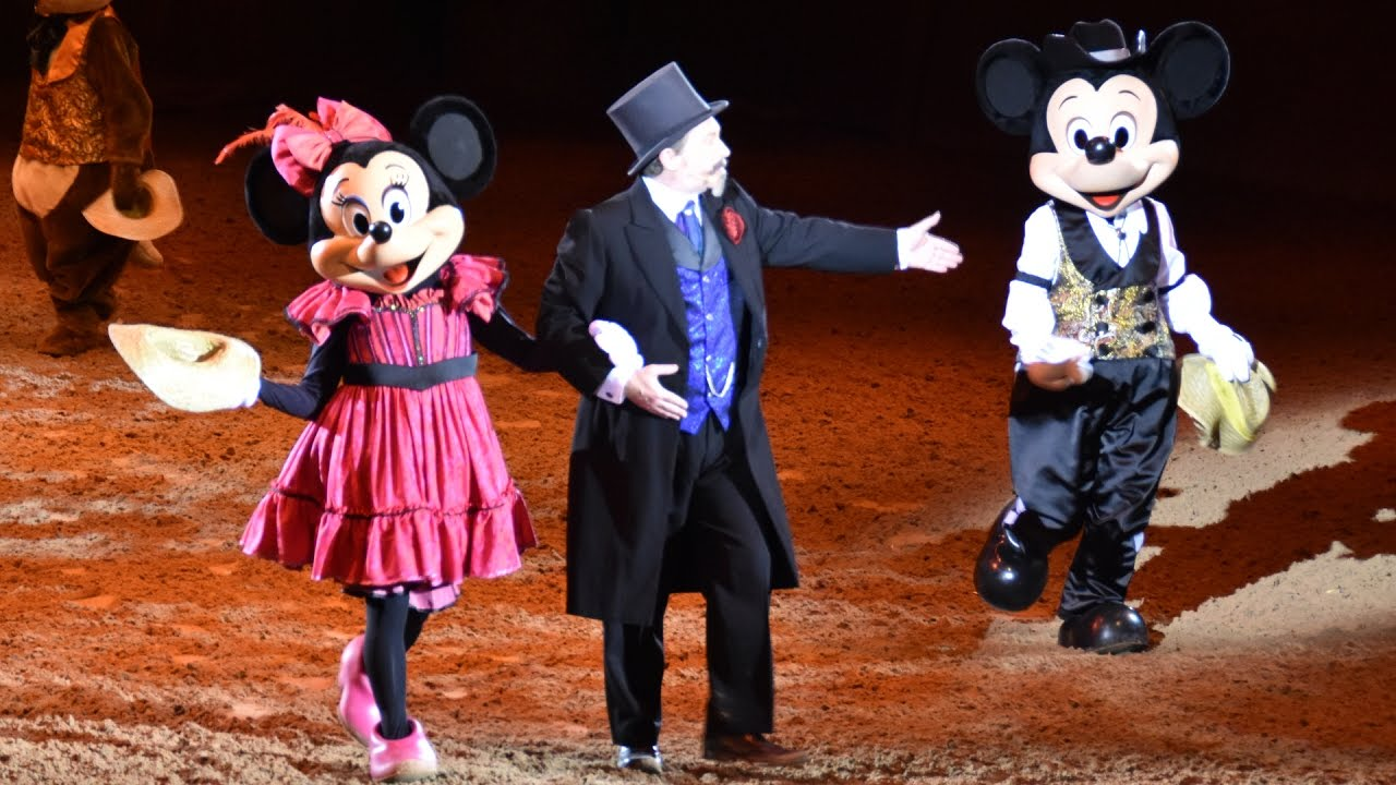 Buffalo Bill s Wild West Show With Mickey   Friends Highlights ... a4ab7c7f7a0a
