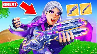 The SIDEWAYS *ONLY* MYTHIC Challenge! (Fortnite)