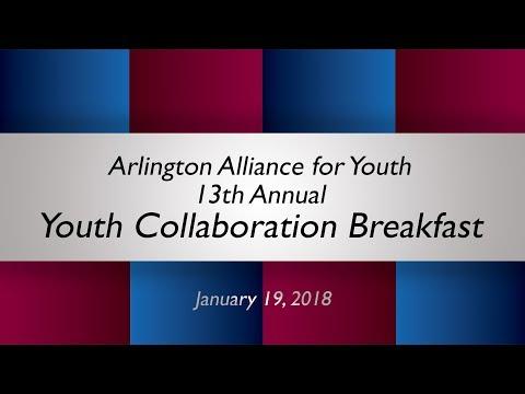 Arlington Alliance for Youth Collaboration Breakfast