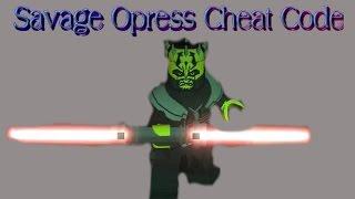 Lego Star Wars The Clone Wars: Savage Opress Cheat Code