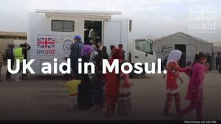 UK aid in Mosul - Providing medical care for civilians