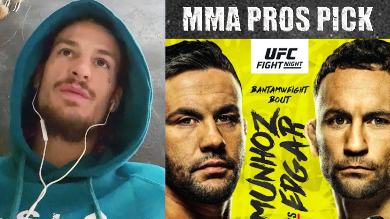 MMA Pros Pick - Frankie Edgar vs. Pedro Munhoz I UFC Vegas 7