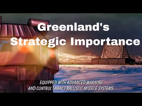 In A Bid To Control Resources, The War Between The US And China, Is Spilling Over Into Greenland