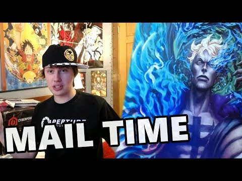Mail Time! Art, Hats + My New PC