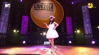 美少女戰士セーラームーン 20週年MTV Live音樂會2014 - 福原遙演唱的「...