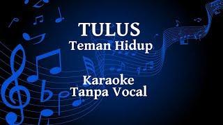 Gambar cover Tulus - Teman Hidup Karaoke