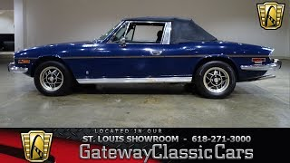 1973 Triumph Stag Stock #7734 Gateway Classic Cars St. Louis Showroom