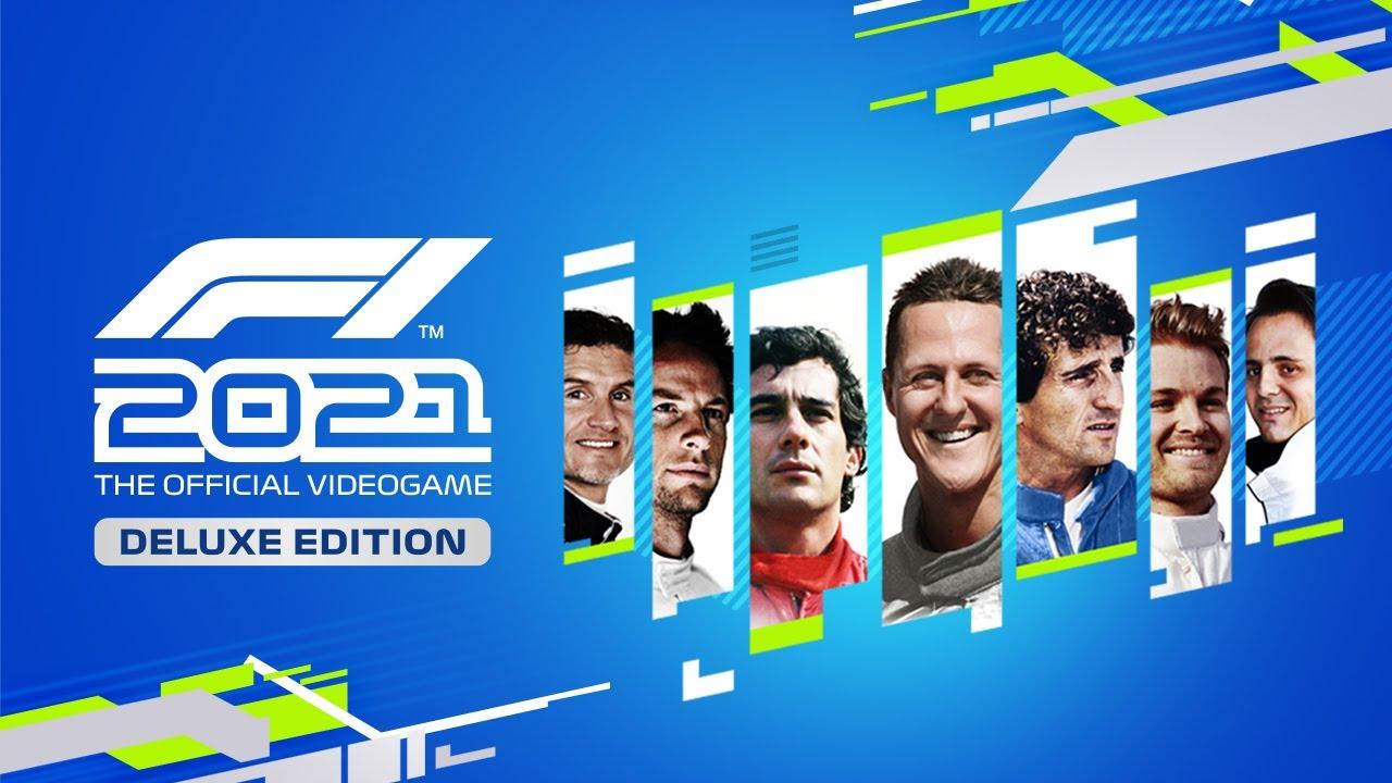 Veja trailer e conteúdo da Deluxe Edition de F1 2021; saiba quem estará na  capa do game - PSX Brasil