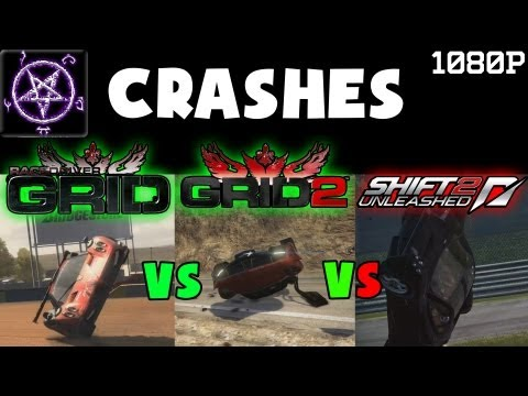 Grid vs Grid 2 vs Shift 2 - Crashes Compilation from YouTube · Duration:  3 minutes 48 seconds