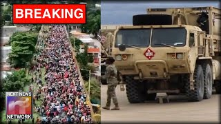 Here is the MASSIVE Troop Buildup Preparing For BATTLE on the Border NOT Being Shown By the Media