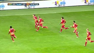 Höjdpunkter: Vild Syrianska-glädje efter sen kvittering mot Gais - TV4 Sport