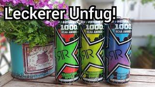 Rockstar Energy XD Performance mit BCAAs im Test | Braucht man das? | FoodLoaf