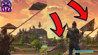C'EST LE SECRET À EDIT FLAT, TRIANGLE ET WIN HEIGHT DANS UN PVP FORTNITE (FORTNITE)