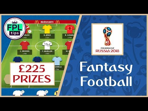 WORLD CUP TASY FOOTBALL 2018: Join Our £225 Prize League!