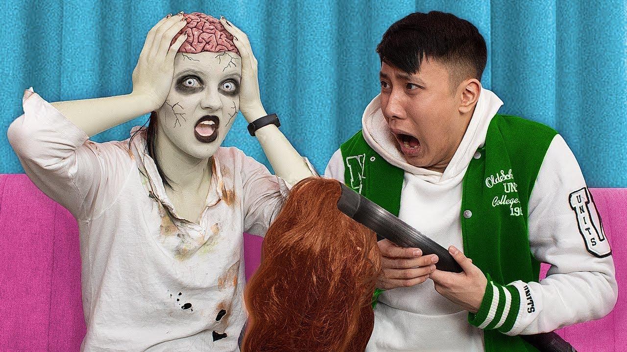 Идеи для Зомби Апокалипсиса / Самые смешные пранки и челленджи / Розыгрыши в колледже