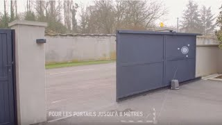 Motorisation Pour Portail Coulissant Somfy Slidymoove Bricorama Youtube