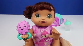 Emekleyen Oyuncak Bebeğim Bebek Bakma Oyunu Baby Alive Türkçe Tanıtım Toy Review Bidünya Oyuncak