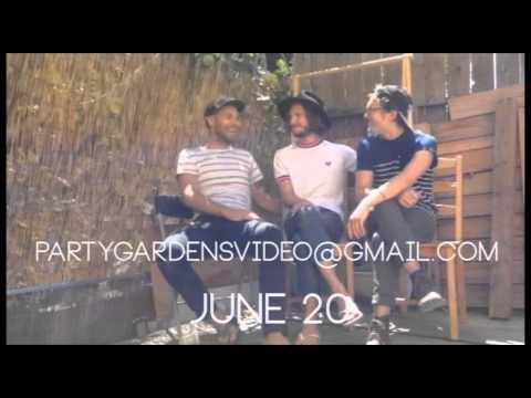 PARTY GARDENS Lyric Video Invitation