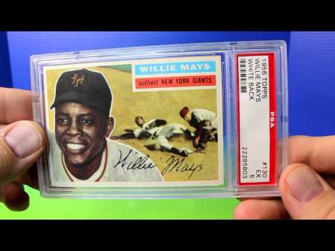 Ted Williams Mickey Mantle Willie Mays Spahn Rookie Baseball Cards