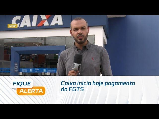 Caixa inicia hoje pagamento do FGTS para não correntistas