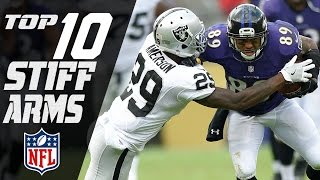 Top 10 Stiff Arms of the 2016 Season | NFL Highlights