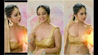 Monica Castelino sexy indian costume
