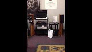 Cambridge Audio 651A amplifier with Wharfedale speakers