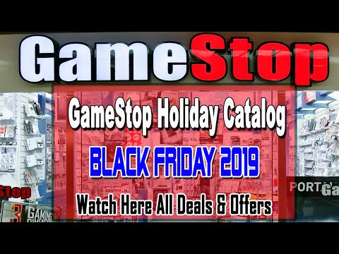 GameStop 2019 Holiday Gift Ad Scans - Black Friday Deals 2019 Predictions