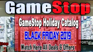 Gamestop 2019 Holiday Gift Ad Scans   Black Friday Deals 2019 Predictions