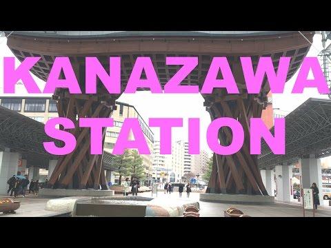 Kanazawa Station Japan Wooden