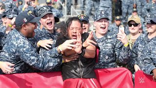 WWE salutes the U.S. Armed Forces with WWE Tribute to the Troops 2017