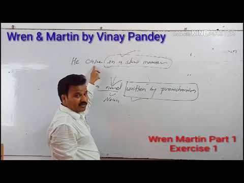 Wren & Martin Part 1