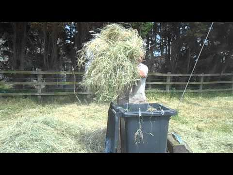 Hay Baling By Hand