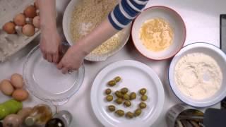 How to make: deep-fried stuffed olives