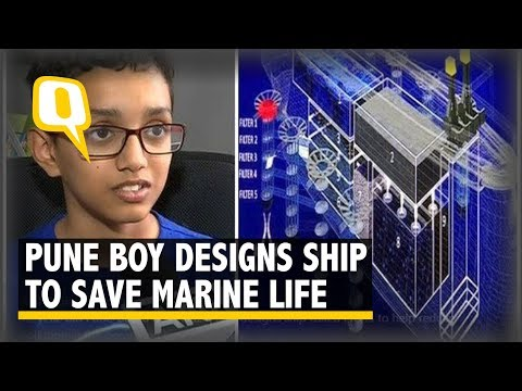 #GoodNews: 12-Year-Old Boy Designs Ship To Clean Up The Ocean | The Quint