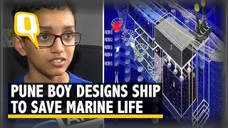 #GoodNews: 12 Year Old Boy Designs Ship To Clean Up The Ocean | The Quint