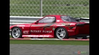 D1 Professional Drift Grand Prix Series - Gameplay PS2 (PS2 Games on PS3)