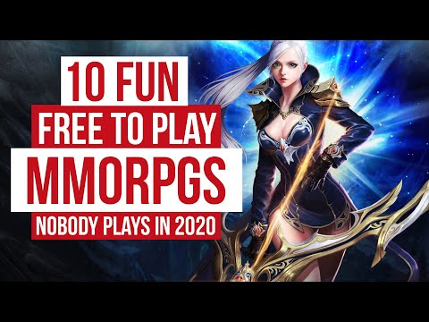 10 Fun Free To Play MMORPG Games Nobody Plays In 2020!