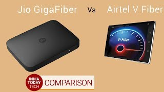 Jio Gigafiber vs Airtel V-Fiber: Plans, features and offers compared